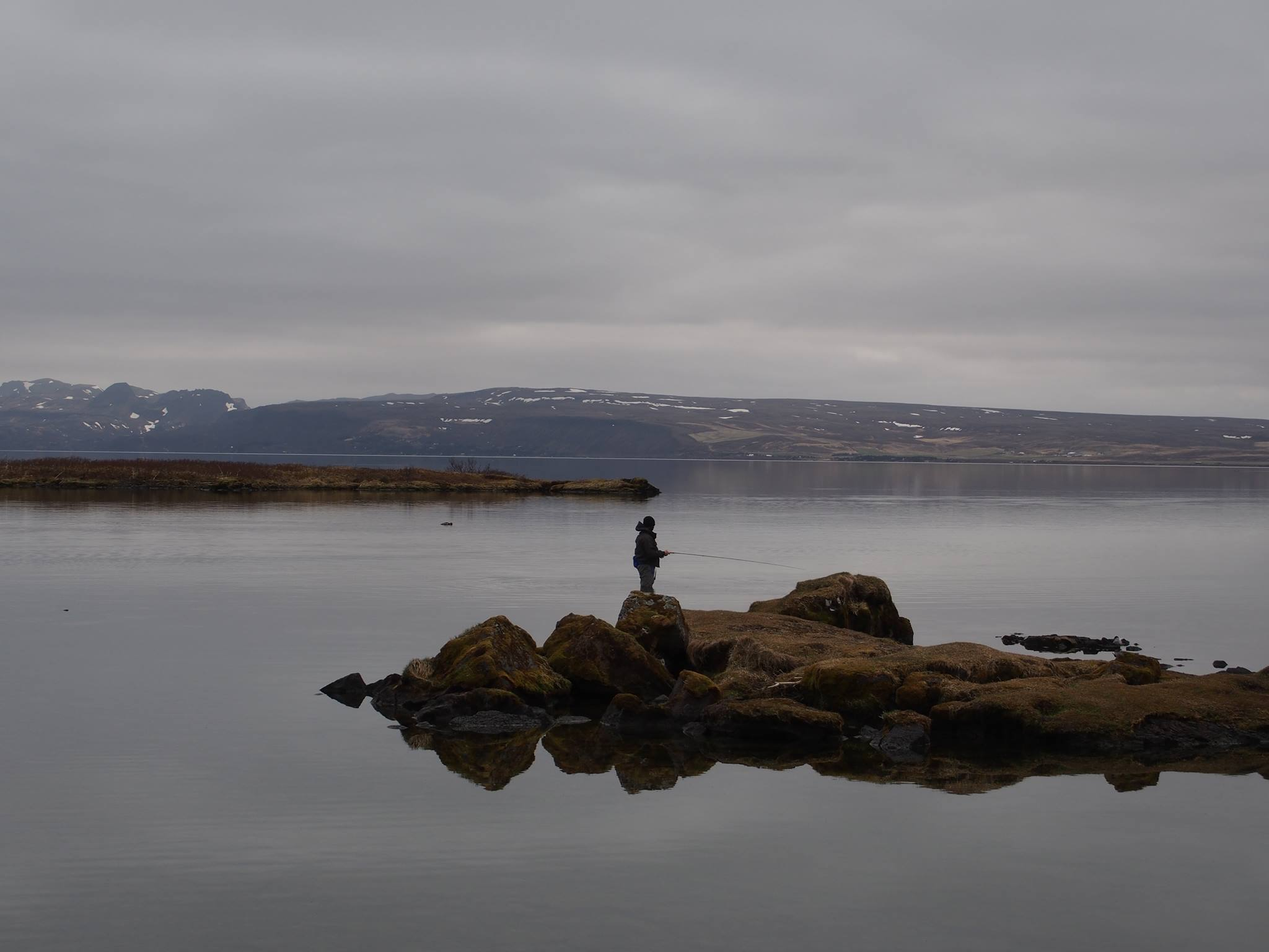 Fin morgen i Thingvellir